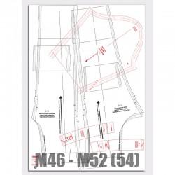 Patronenplaat M46 t/m M54